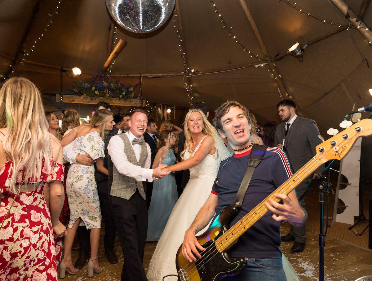 90's Themed Wedding Band