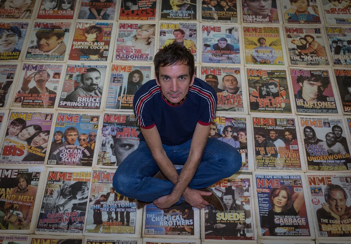 Britpop Artist Andrew Starkey