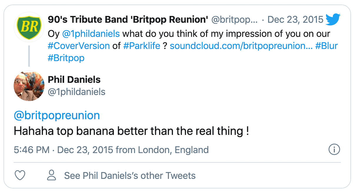 Brit Pop Tribute Band